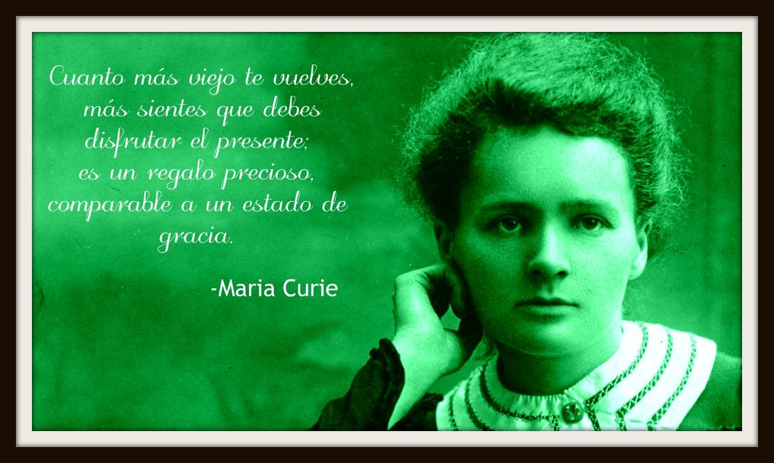 Historia 10 Frases Celebres De Maria Curie Cultura Para Todos